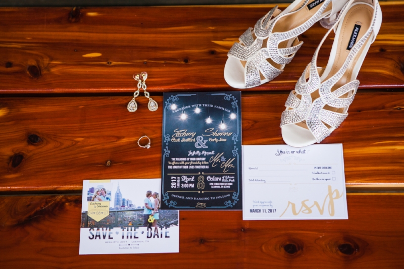 Shanna is a talented graphic designer and designed all of your stationary for the wedding!