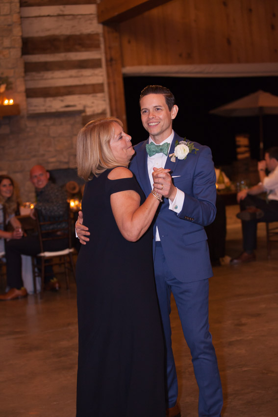 Mother Son Dance at Homestead manor