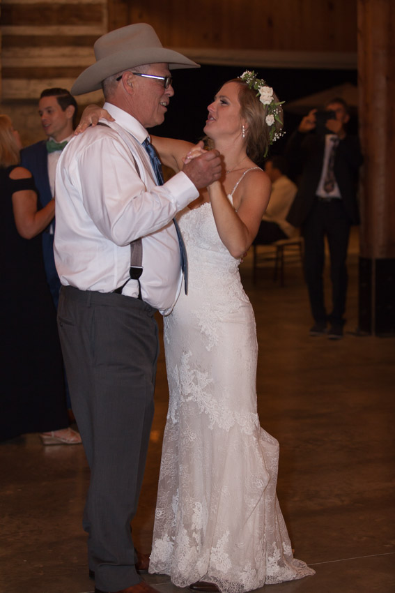 Bride with father dance