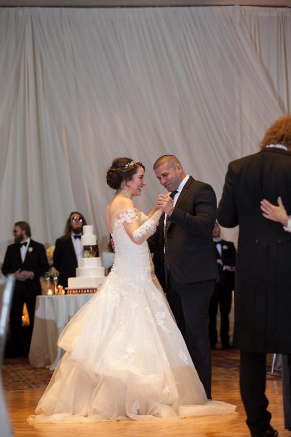 Westin Nashville Bride and Uncle Dance