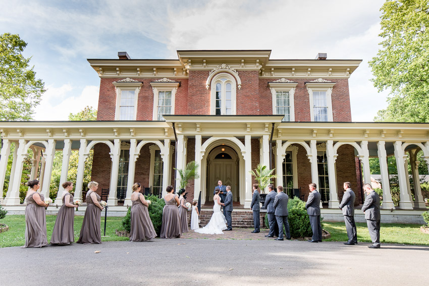 Oakland's Mansion Wedding Ceremony