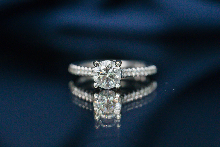 Such a stunning engagement ring!