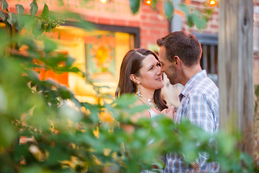 A perfect way to end your engagement session!