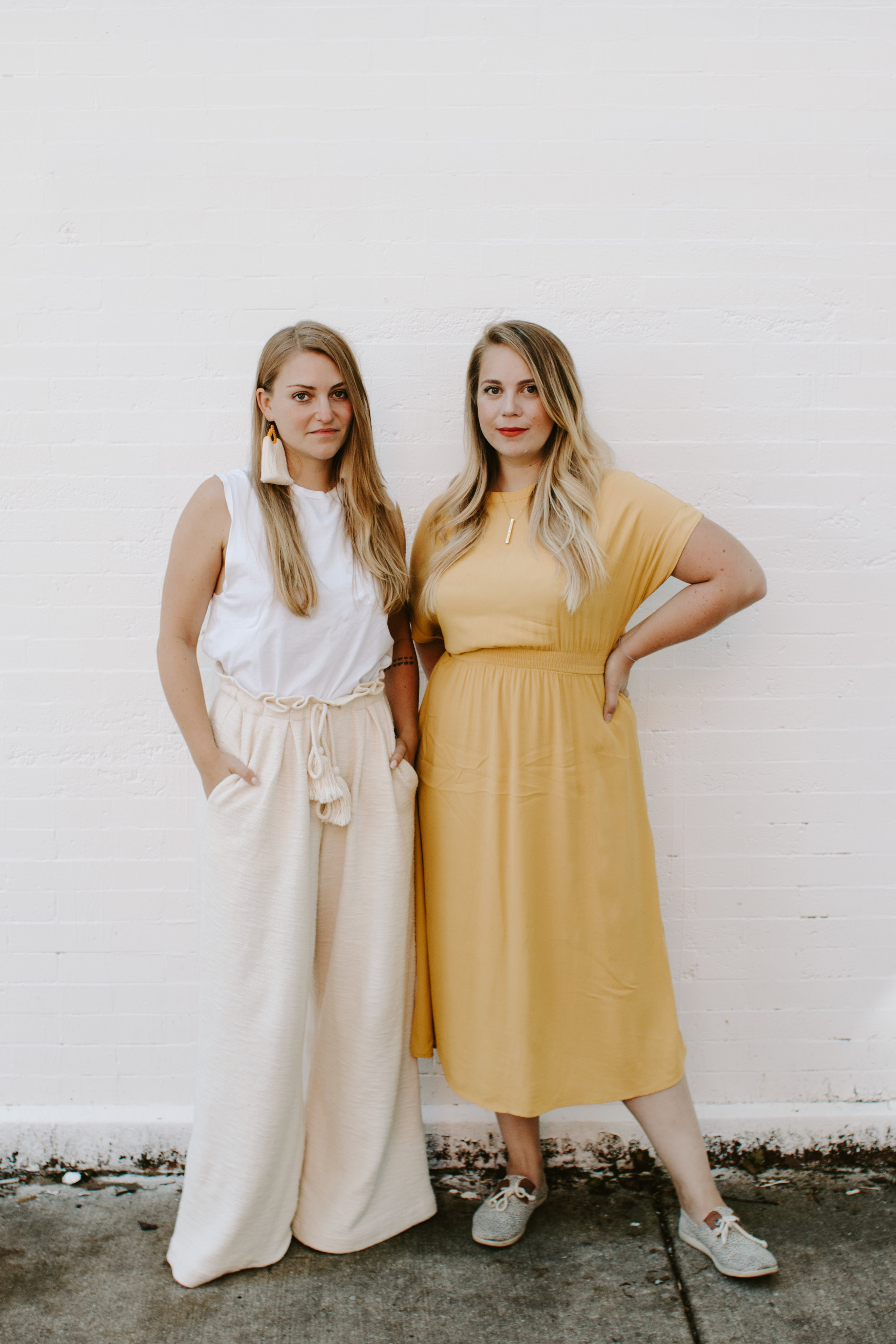 Meet Your WOTW Team- Kelsey + Mallory - Hi! We are Kelsey + Mallory, the creators of Week of the Website. We developed this service to address the questions we often face when talking with new clients. How long will this take? What do I need to be ready? How can I update this on my own? How tech savvy do I need to be? We understand what it is like to be on both sides of the development process having owned businesses before this separately. Our goal was simple: make this typically cumbersome and complicated process fun, easy, and 100% transparent. We bring hard work, humor and positivity to each of our projects, as well as years of experience building websites for entrepreneurs just like yourself.Want to see our other work in production & consulting? Check out Presence Agency →