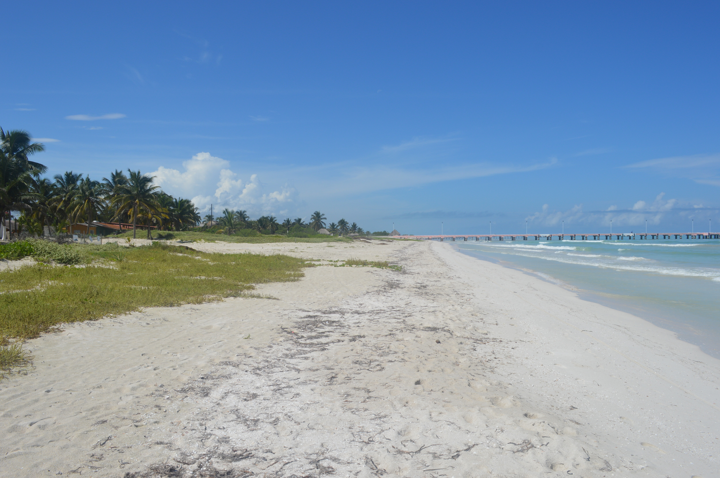 60 kms white Sandy beach Las Casitas El Cuyo
