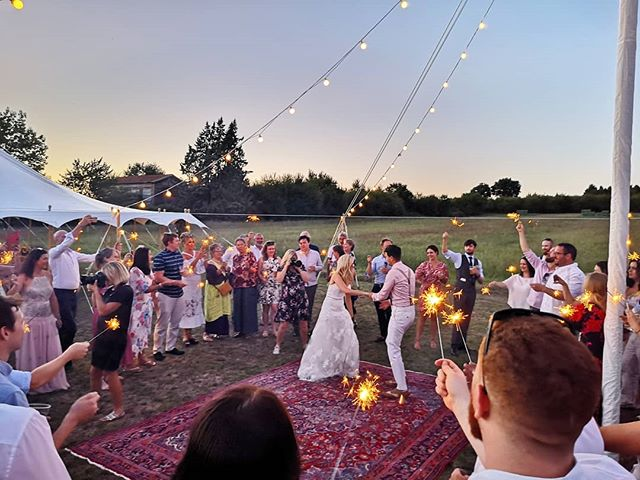 Super fun wedding this week with James & Phoebe. Congrats!!! . . . . #wedding #love #frenchwedding #destinationwedding #bordeauxwedding #aquitaine #franceweddings #dordogneweddings #realdjsplayvinyl #vinyldj #internationalwedding #destinationweddingdj #frenchweddingstyle #weddinginfrance #weddingdj #bestjobever
