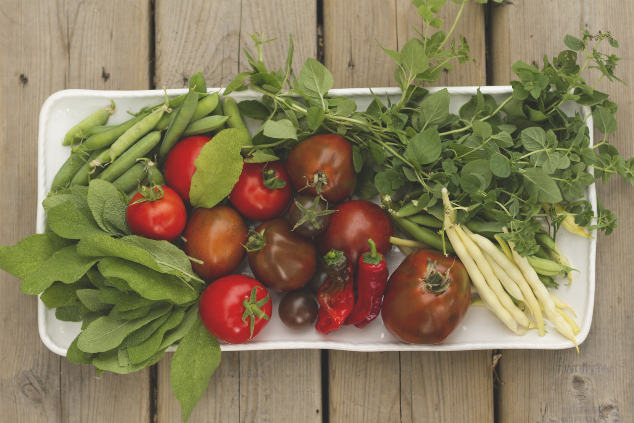 Garden goodies.