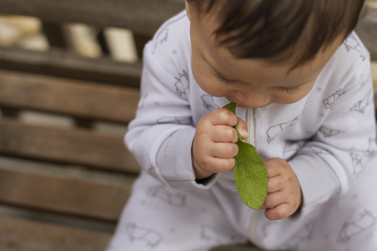This kid loves sage.