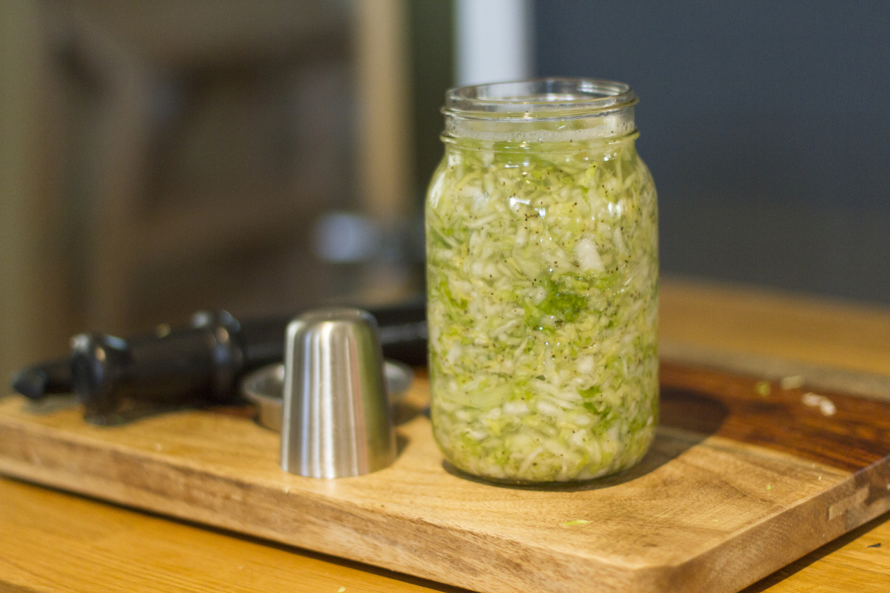 It's time for sauerkraut!