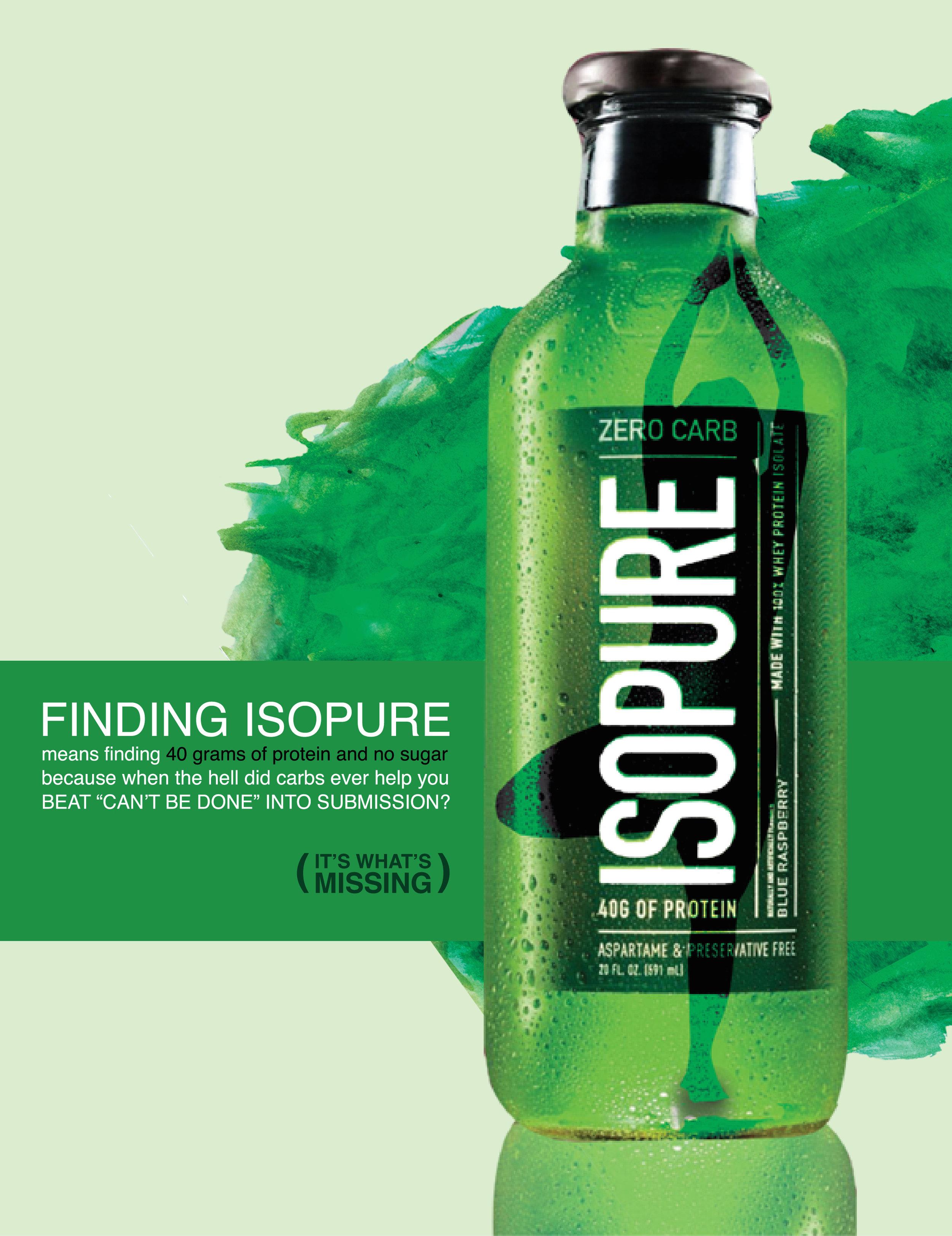 Isopure Print 3
