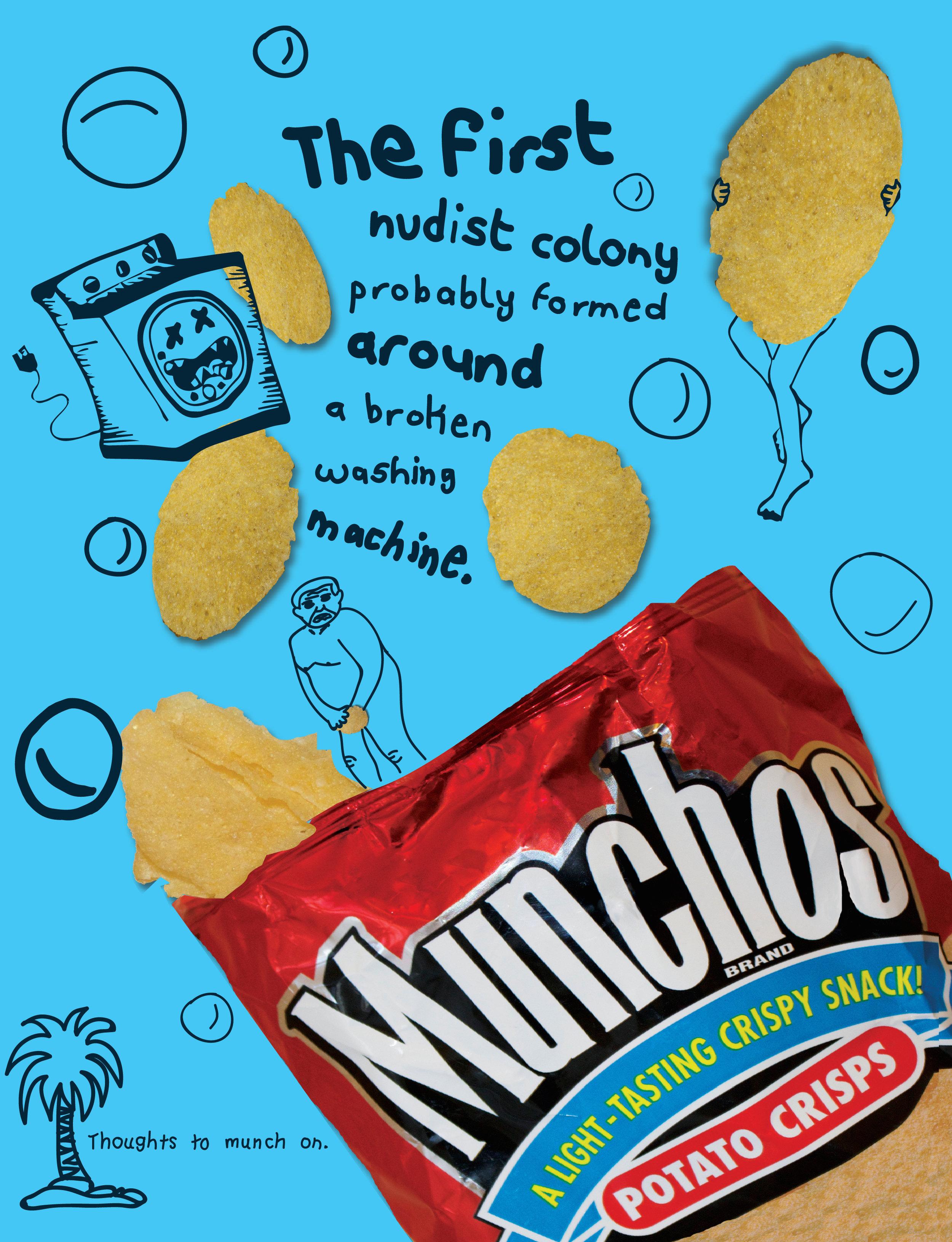 Munchos Print 3