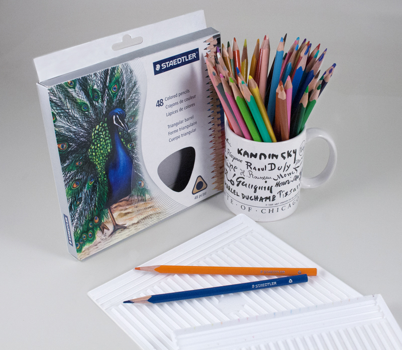 STAEDTLER 48 COLORED PENCILS SET – MUG NOT INCLUDED