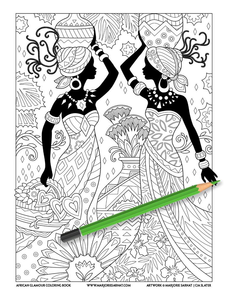 African Glamour Cover Sarnat Slater