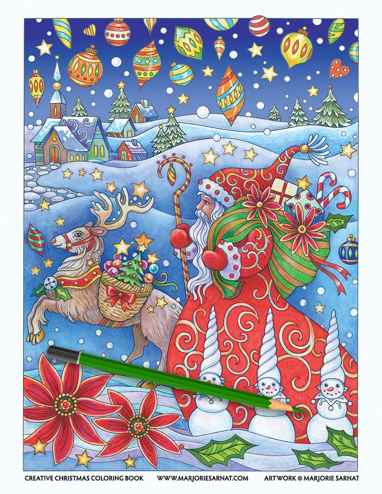 Creative Christmas Cover Artwork
