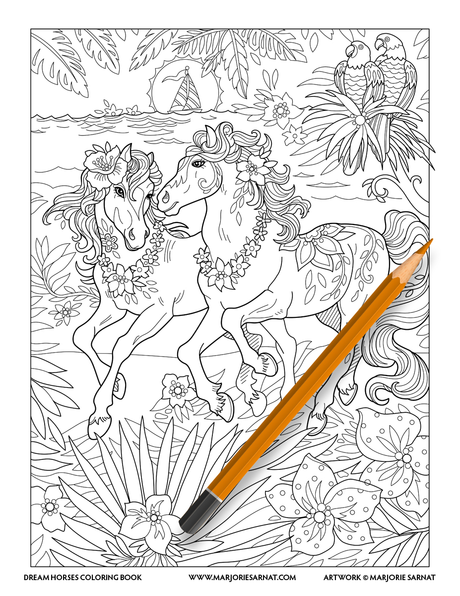 Tropical Horse