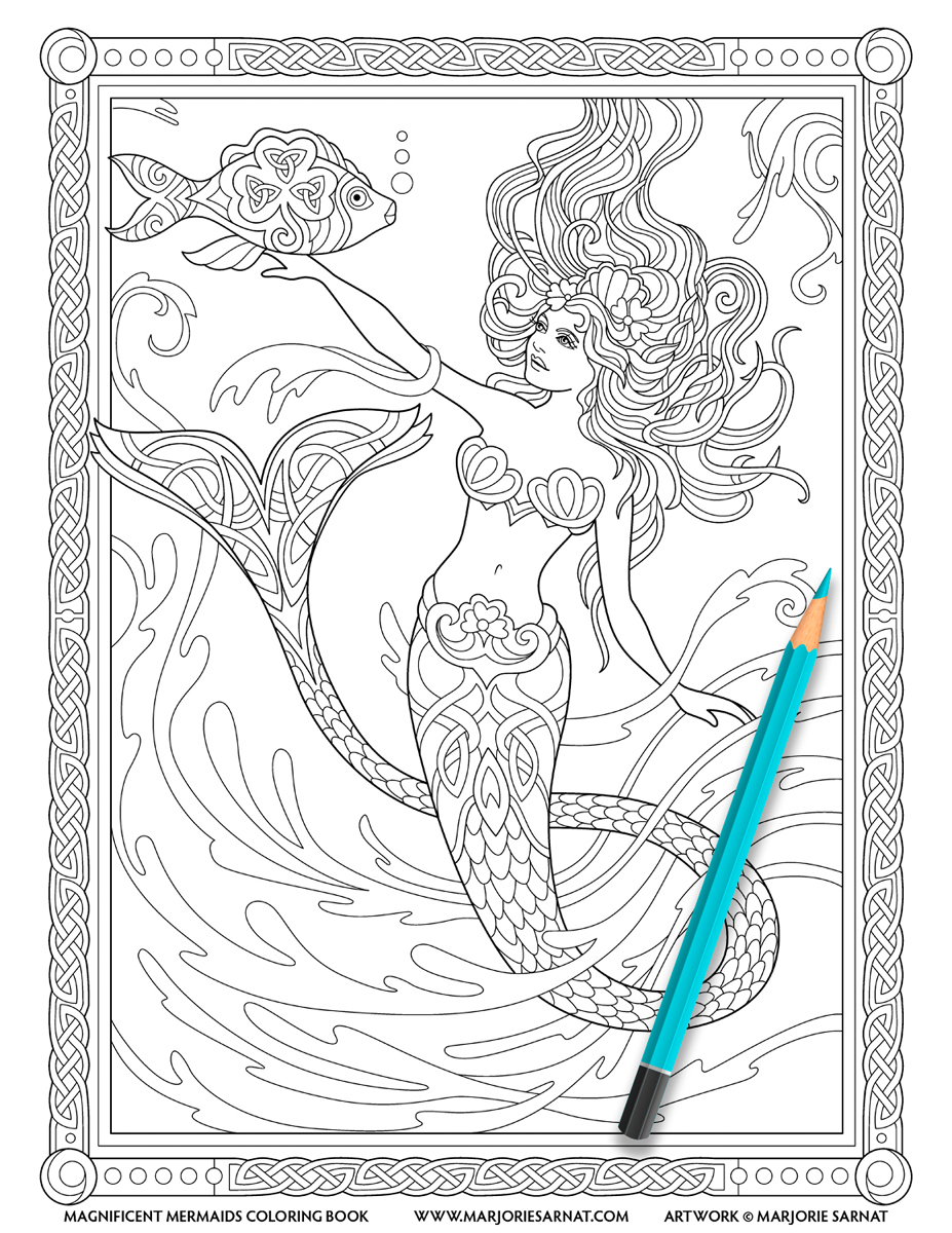- Magnificent Mermaids — Marjorie Sarnat Design & Illustration