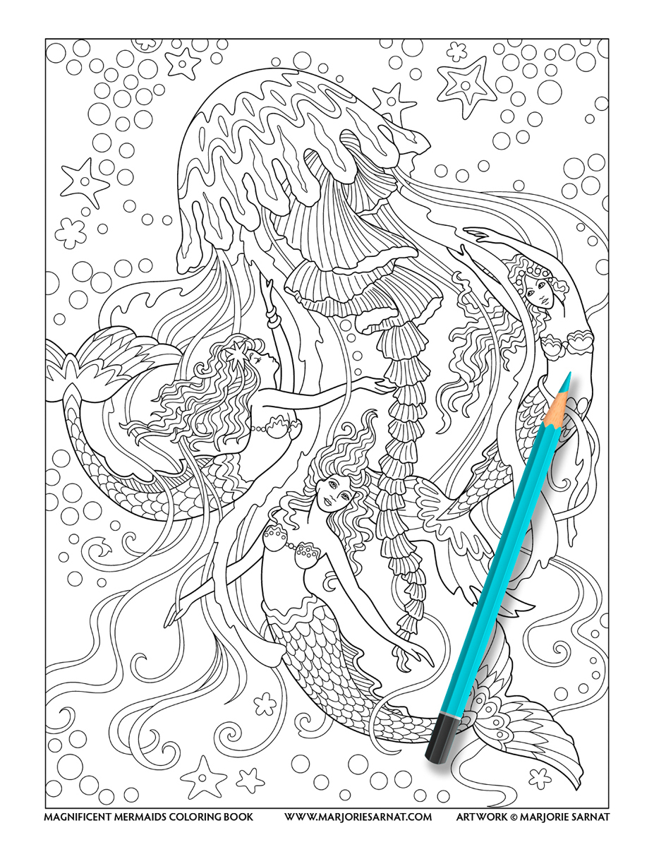 Jellyfish Mermaids