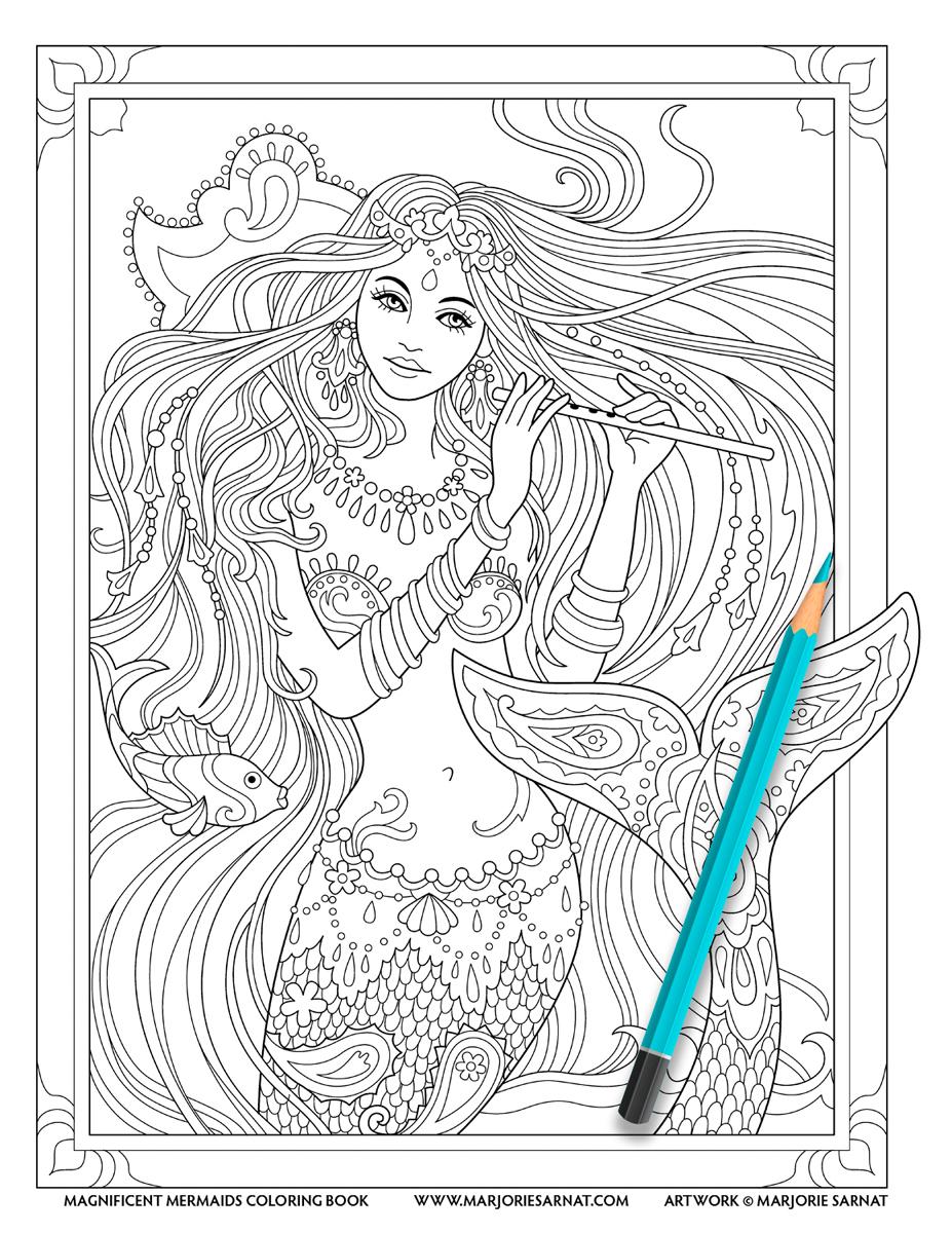 South Asian Mermaid