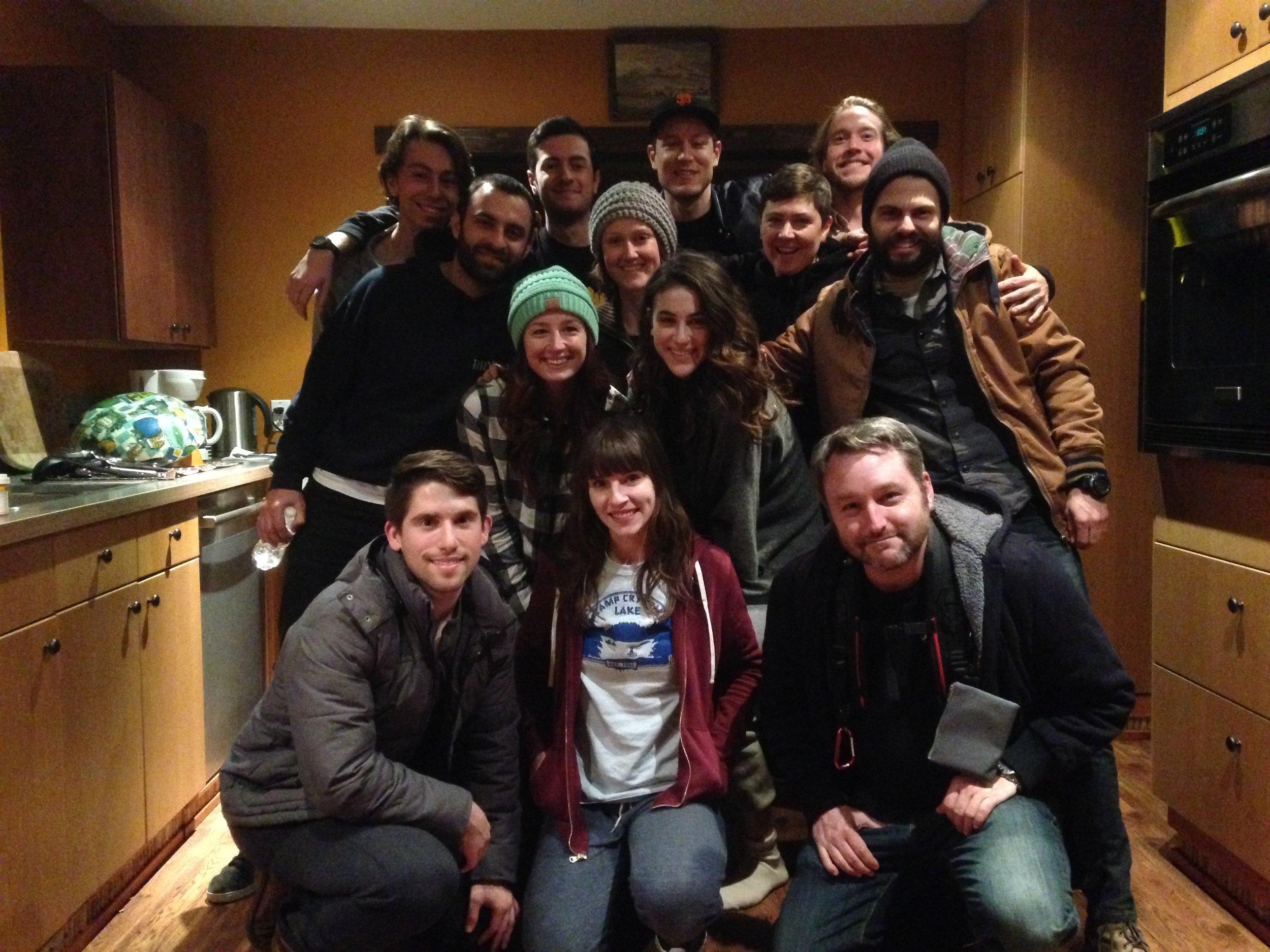 Blood Puppet Week 1 cast and crew.JPG