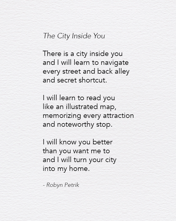 The City Inside You