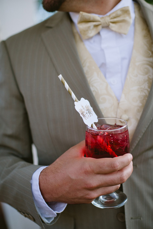 personalized signature drink straws