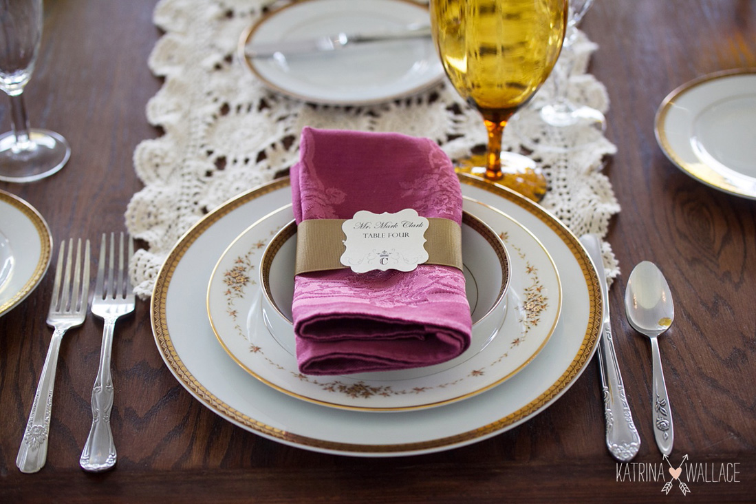 Mismatched Placesettings