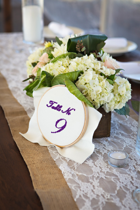 Crossstitch Table Numbers