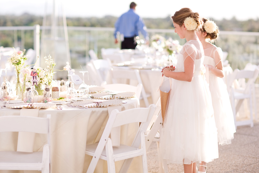 Shannon + Travis' Vintage Rooftop Wedding - Hotel Valley HoPhotographer: Melissa Jill Photography