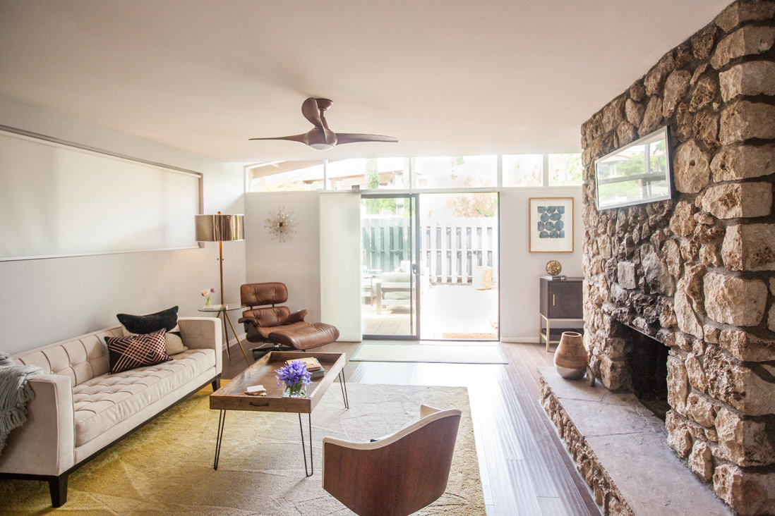 Sedona Mid Century Modern - This 1950's ranch home was modernized with elements of vintage flair.