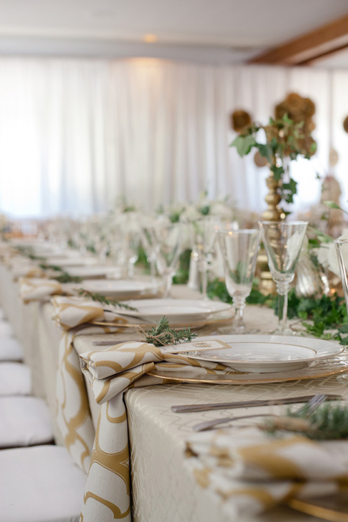 white gold and green reception.jpg