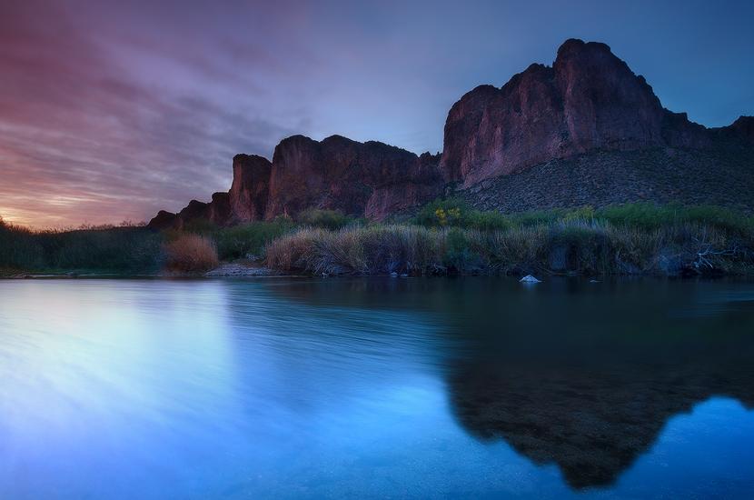 In A Prefect World - Lower Salt River, Salt River, AZ