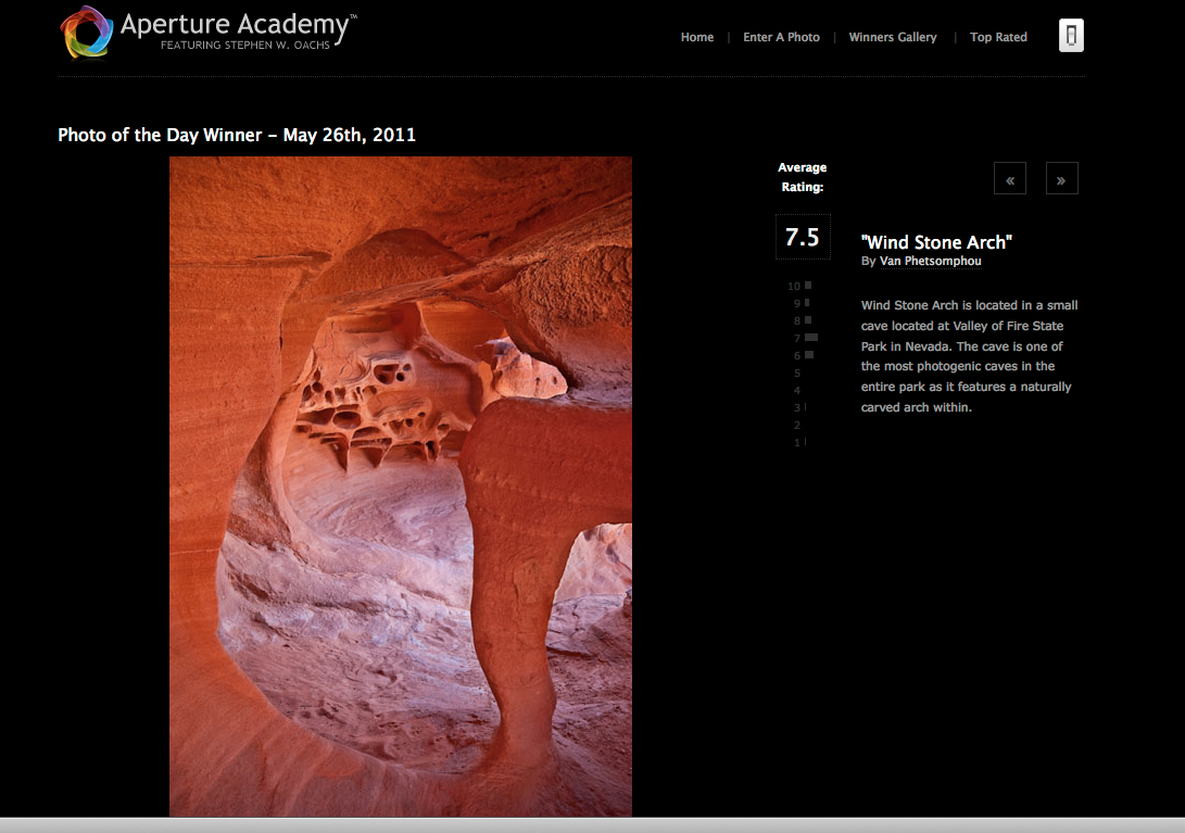 Aperture Academy photo of the day - May 26, 2011