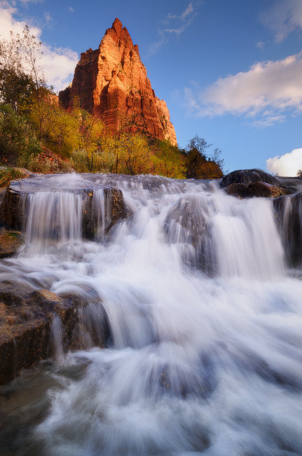 Living Water - Court of the Patriarches, Zion National Park, UT