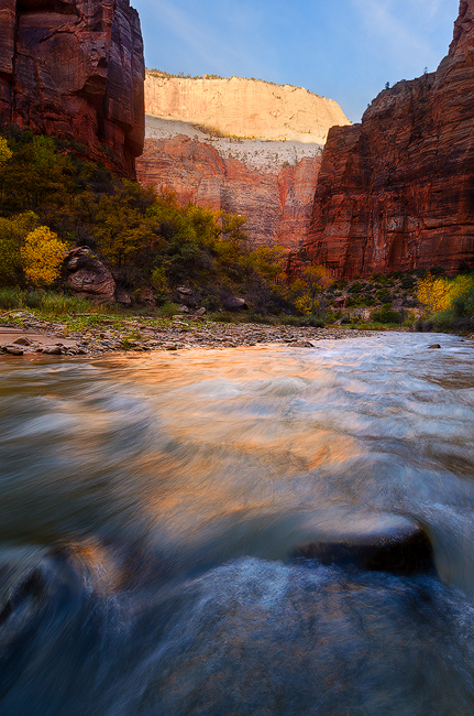 Rivers of Living Water - Virgin River, Zion National Park, UT