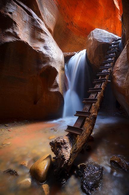 Hidden Paradise - Kanarraville Falls, Kanarraville, UT