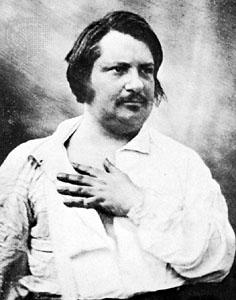 Balzac – skildrade cynismer och fåfänga i Den mänskliga komedin.