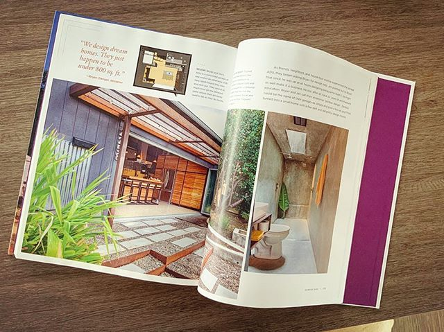 "Honored and thrilled to be among the awesome designers and homeowners featured in the book ""little house in the city"". . Among the collection of cool small urban projects are not one...but two of our ADU projects in Portland!!"