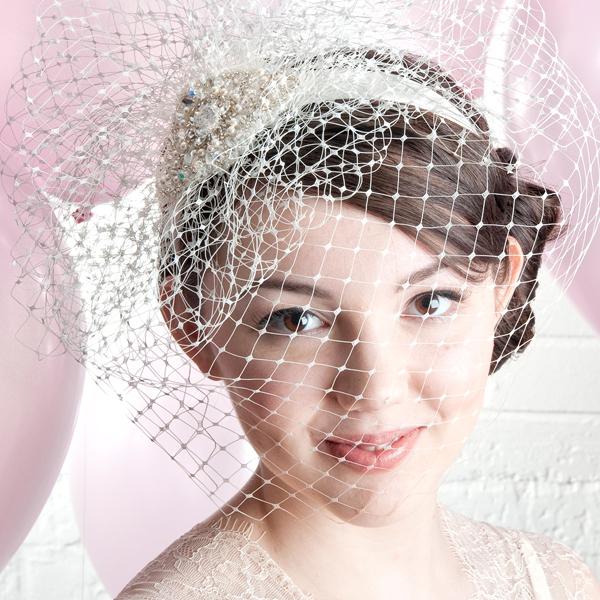 Diana Bridal Birdcage Veil By Harriet product.jpg