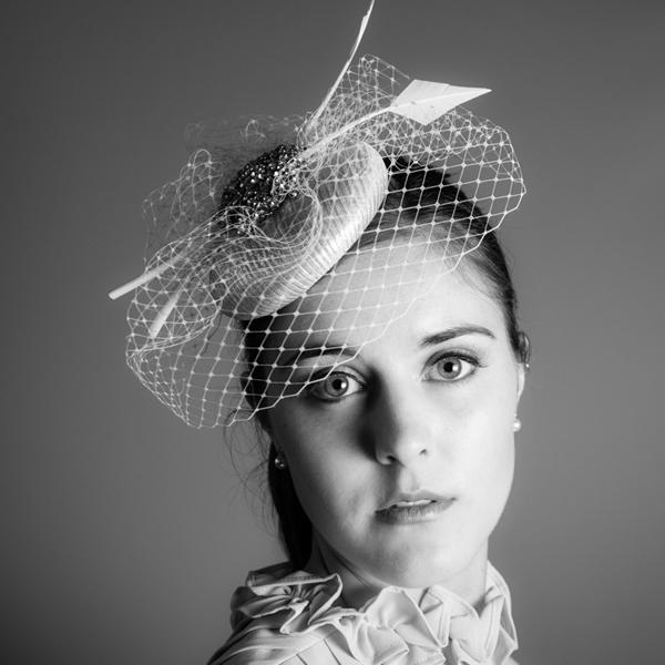 Adele Bridal Birdcage Fascinator Hat By Harriet product.jpg