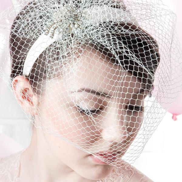 Pippa Bridal Birdcage Veil By Harriet product.jpg