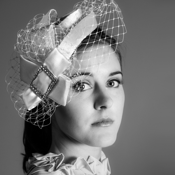Celia Bridal Birdcage Fascinator Hat By Harriet product.jpg