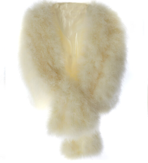 Marabou Luxury Feather Bridal Cape