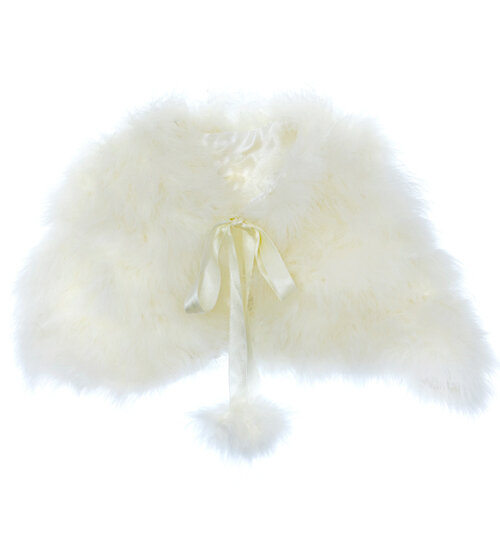 smooth feather childs cape bridal accessories by harriet.jpg