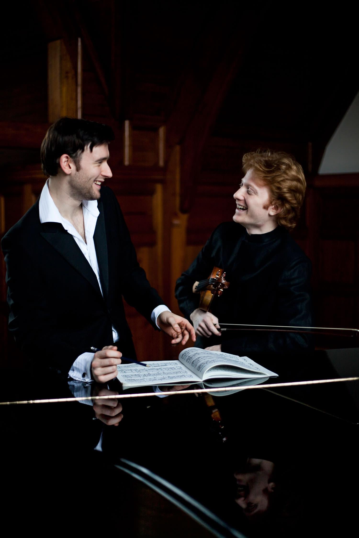 Michał Ćwiżewicz and John Paul Ekins | Photo: Magdalena Bell
