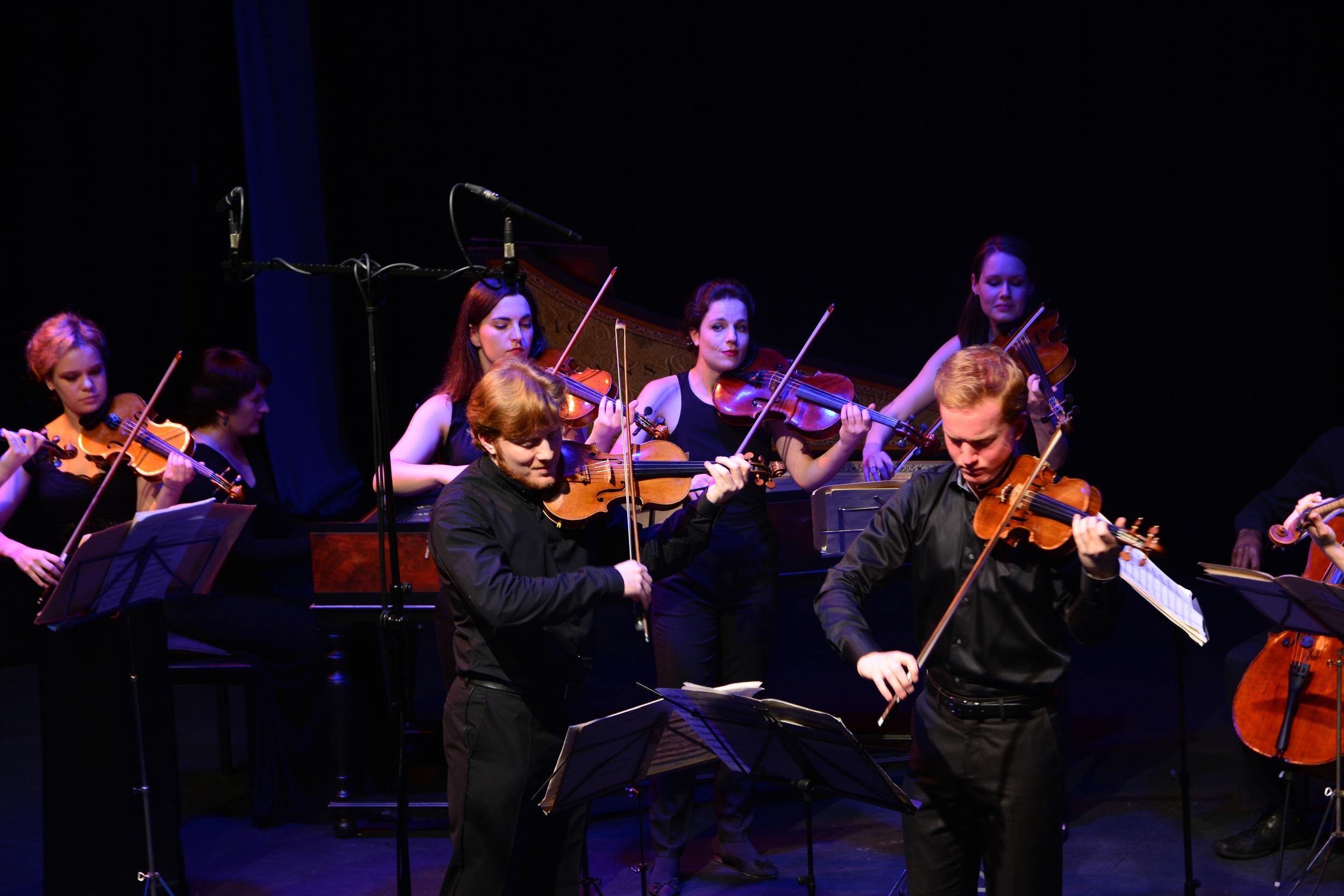 Bach Double with GCO | Photo: Magdalena Grzymkowska | London Oct 2015