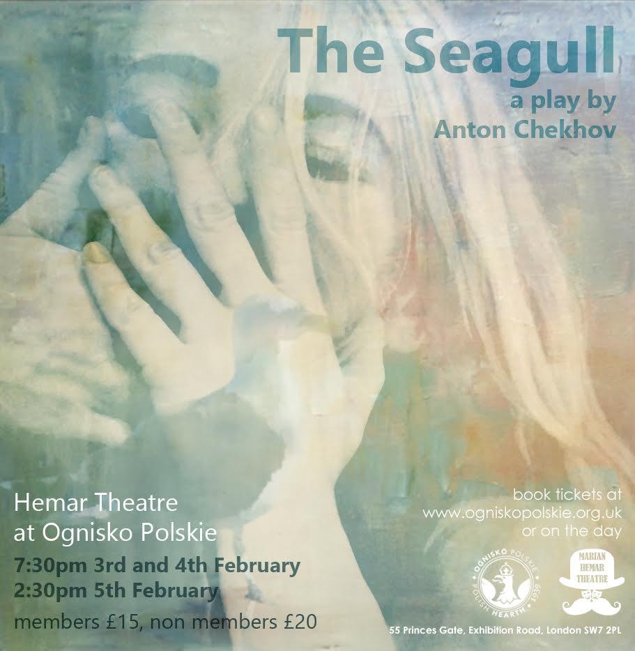 Seagull Chekhov OGNISKO
