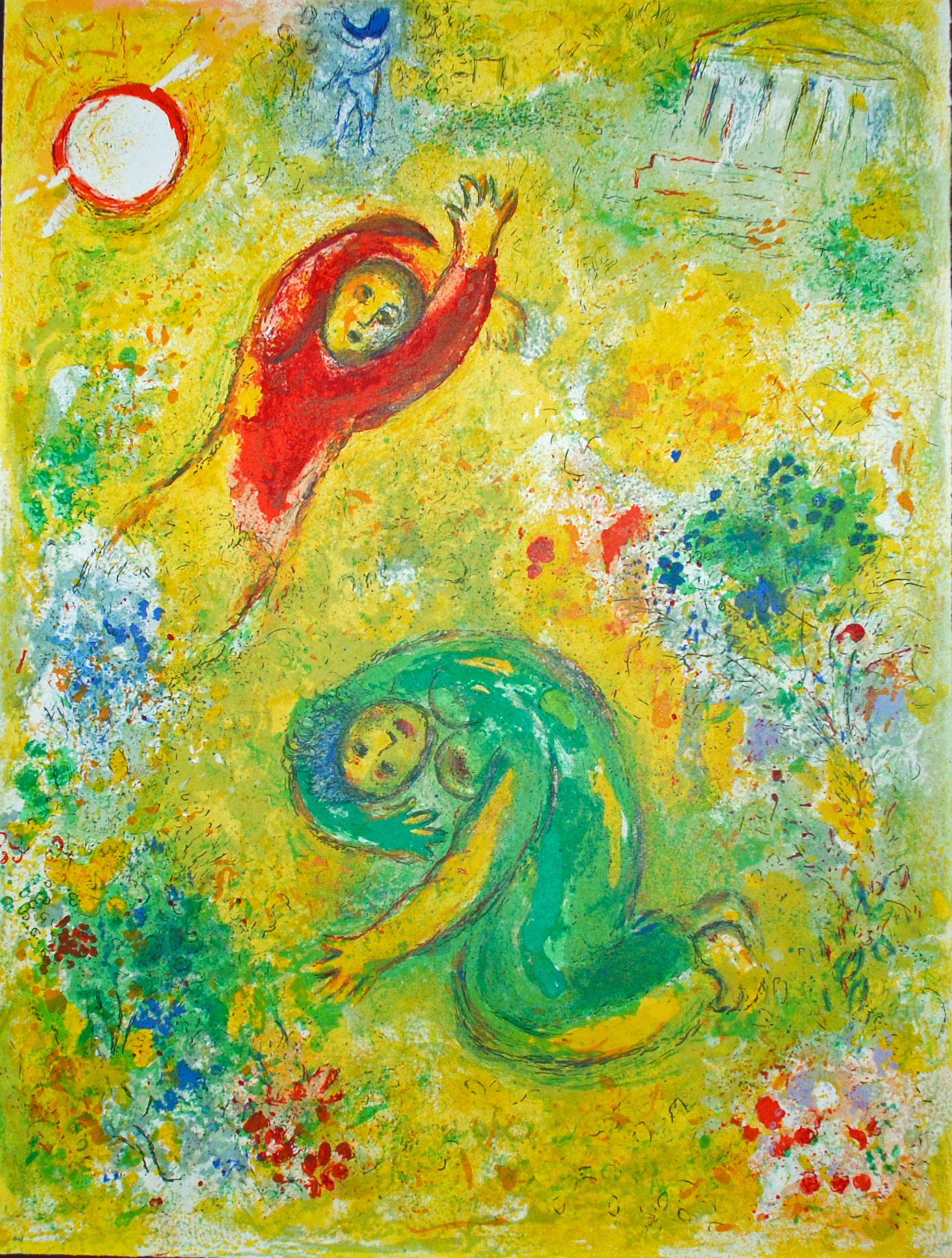 Daphnis et Chloe, Chagall