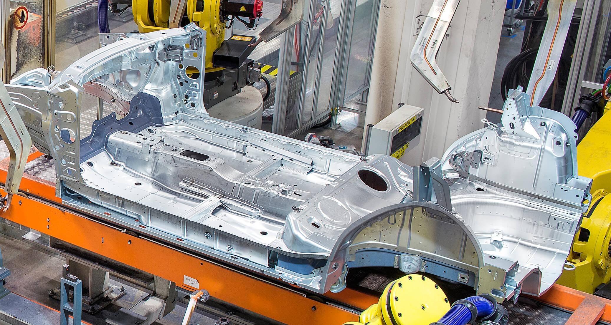 WEMO production lines for radiator frames