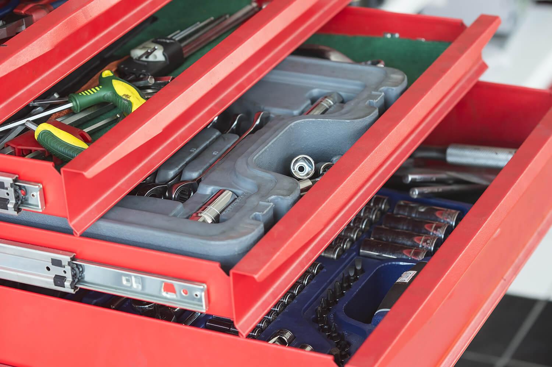 Blechbearbeitung Produktionslinie für Schubladen