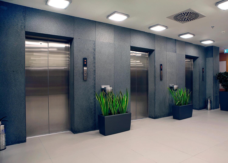 WEMO referenzen für Aufzugstüren